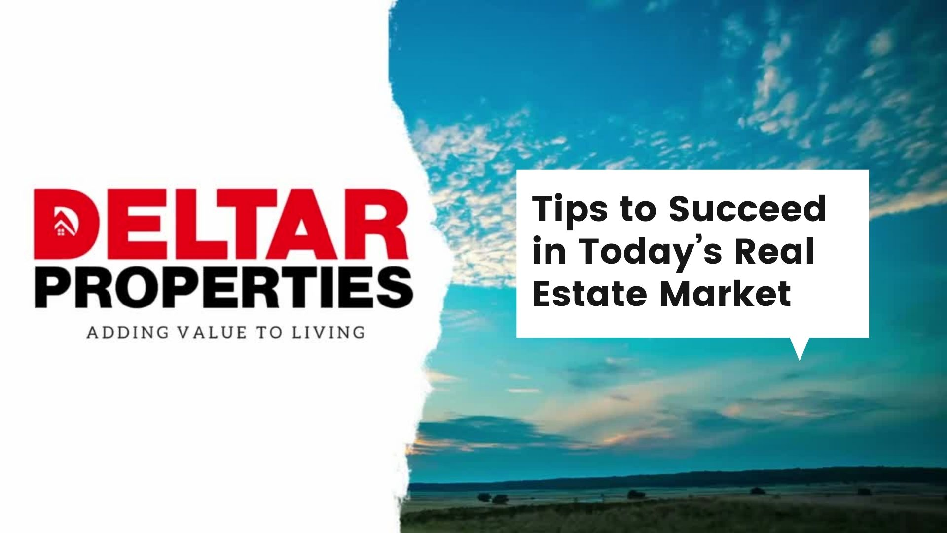 Tips to Succeed in Today's Real Estate Market